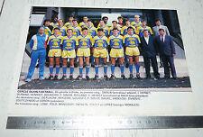 CLIPPING POSTER FOOTBALL 1988-1989 CERCLE DIJON