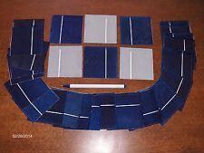 "40 3"" x 3"" solar cells, solar panels .5V x 1.8A=32wattsdiy solar cell products"