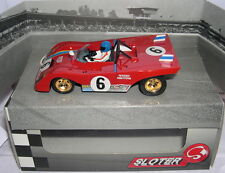 SLOTER 400102 SLOT CAR FERRARI 312 PB DAYTONA 1972 #6  T.SCHENKEN-R.PETERSON  MB