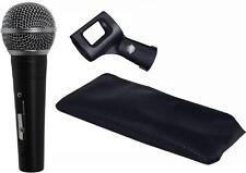 LD Systems D1103 dynamisches Gesangsmikrofon incl. Mikrofonklemme, Tasche D-1103