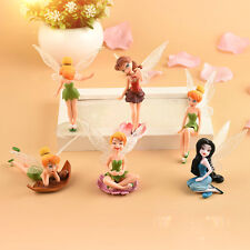 Mini Angel Flower Fairy Landscape Gardening Plant Pot Dollhouse Ornament Decor