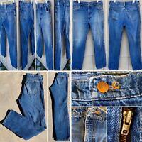 Vintage Elk Brand Jeans RN 21276 Talon 42 Zipper 34.X 34
