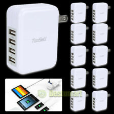 4-Port Usb Charger, Charging Block, 3.1A Home Travel Wall Charger Multi-port Lot