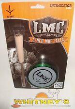 Lynch Mob Calls Intimidator Glass Over Aluminum Green Turkey Friction Call T201G