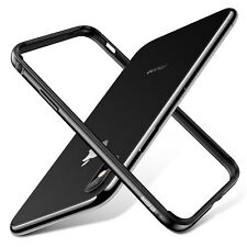 ESR iPhone X Bumper Case, Metal iPhone Frame Armor with Soft Inner Bumper[No Sig