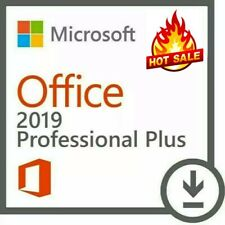 🔥Microsoft Office 2019 Professional Plus for Windows10 Lifetime Version 1 Pc🔑