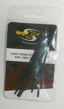 Gaine thermo rétractable noir Carp Spirit 1.5mm 7.5cm par 10