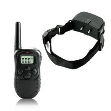 998D-1 300M Shock Vibra Remote Control LCD Electric Dog Training Collar FD