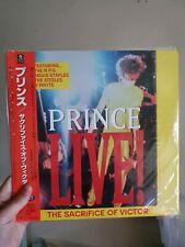 Prince The Sacrifice Of Victor Laserdisc Rare