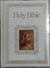 Vintage 1978 Regency Family Record Bible KJV Padded Cover Red Letter 702WS