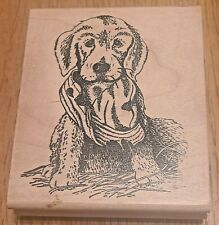 Creative Impressions Labrador Puppy Rubber Stamp Crafts Cards Invitations