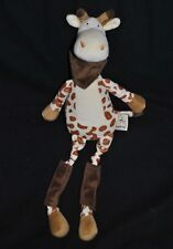 Peluche doudou girafe LES PETITES MARIE RAYNAUD Pilaf bandana 45 cm Etat NEUF