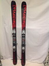 TWIN TIP,NEW Primal wood ski,155cm  w/used Speed Point Marker Bindings,+ Fitting