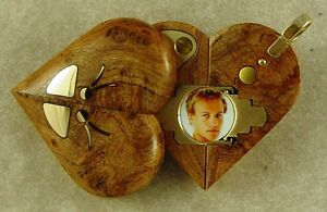 Illusionist Locket #4657 Thin Magic Gold Butterfly Pendant by Illusion Lockets