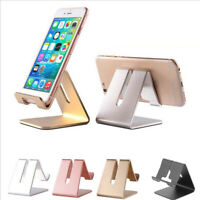 Universal Aluminum Cell Phone Desk Stand Holder for Samsung iPhone iPad Table