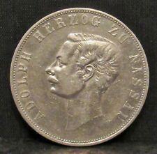 Germany Nassau 1860 1 Thaler XF