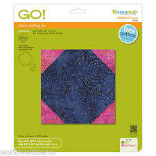 "AccuQuilt GO! Fabric Cutter Cutting Die Snowball 6"" Finished 55330 Quilting"