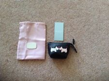 RADLEY BLACK LEATHER 'HELLO' COIN PURSE BNWT
