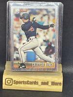 1993 93 Bowman Chipper Jones Rookie RC #347, Atlanta Braves, FOIL, HOF