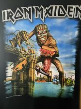 Iron Maiden Brooklyn Event T Shirt M MEDIUM Book of Souls Tour 2017