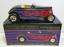 Scarce 1:25 SpecCast House of Kolor '34 Ford Roadster Street Rod Coin Bank 04035