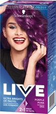 Schwarzkopf LIVE Ultra Brights Pastel Semi Permanent Hair Dyes 094 PURPLE PUNK