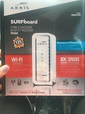 ARRIS Surfboard SBG6400 Cable Modem & Wi-fi Router N300