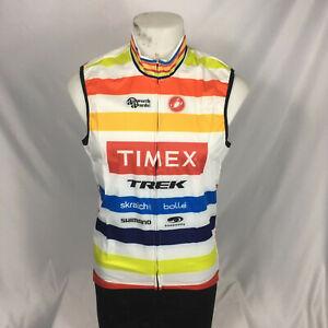 Large Castelli Wind Vest Timex Cycling Vest