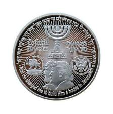 US Donald Trump Jewish Temple Jerusalem Israel Commemorative Coin Collectible