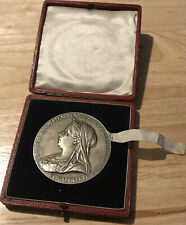More details for 1837-1897 queen victoria diamond jubilee - large silver medallion