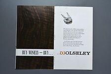 Vintage Brochure: Wolseley Range 16/60/Hornet/1500/6/110 H&E 6485