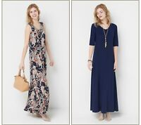 Attitudes by Renee Scoop Neck Set of 2 Printed & Solid Dress (Multi, M) A375406
