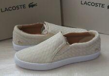 "Lacoste ""Tamora"" slip-on women's trainers size 6.5UK (40EU)"