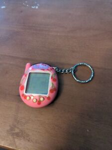 Vintage Tamagotchi Connection Pink with Cherries Rare New Battery 2004 Tested