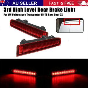 For VW Volkswagen Transporter T5 T6 3rd High Level Rear Brake Light Barn Door ~