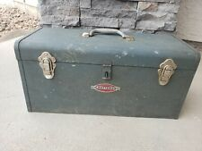 Vintage Craftsman Metal Tool Box
