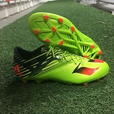 newest collection 99d68 c3bd1 adidas Messi 15.1 Fg ag Soccer Cleats Mens Size US 10.5 UK 10 Solar Green