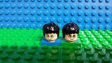 Lego Harry Potter flesh minifig head face dual sided glasses Lightning Bolt NEW