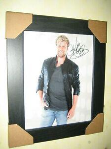 Kian Egan {Westlife} Excellent Hand Signed Photograph {10x8} Framed + CoA