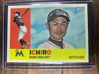 Ichiro Suzuki Baseball Card #70 Topps Archives Miami Marlins MLB HOF Free Ship