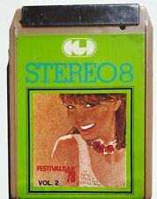 FESTIVALBAR '78 (POOH - FOGLI - BELLA) - CASSETTA STEREO 8 SIGILLATA (SEALED)
