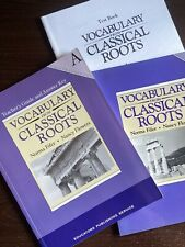 Vocabulary from Classical Roots A LOT: Teacher's Guide, Student Book, Test Book