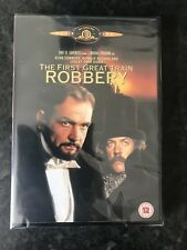 THE FIRST GREAT TRAIN ROBBERY (Sean Connery) - DVD - REGION 2 UK New Sealed