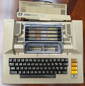 Atari 800 8-bit 6502 Computer, Early Version, Stock, Tested, Excellent Condition