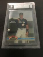 ⚾️ 1991 stadium club #388 JEFF BAGWELL houston astros rookie card BGS 9 ⚾️