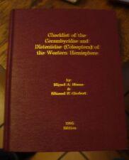 Checklist Of The Cerambycidae & Disteniidae Of The Western Hemisphere 1995 Ed.