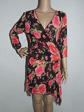 Polyester Floral Shirt Clubwear Dresses
