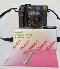 Mamiya 7 ii 80mm/f4 50mm/f4.5 Near mint Box Contents Manual