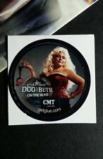 "DoG AND BETH ON THE HUNT HANDCUFFS TUBE TV SMALL 1.5"" GET GLUE GETGLUE STICKER"