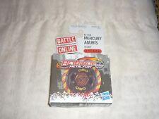 HTF 2012 Hasbro Beyblade Metal Fury B-166 Mercury Anubis 85XF Spinner NEW IN BOX